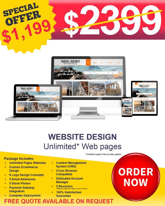 Website Design Price